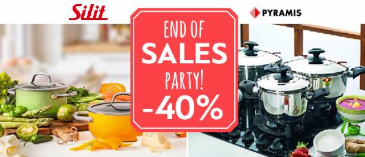end of sales