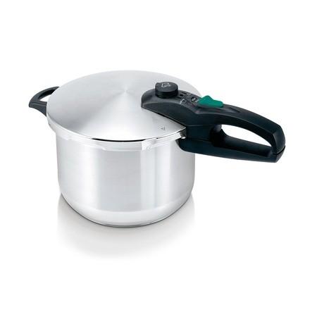 Χύτρα Ταχύτητος Ανοξείδωτη Με Καλάθι 8Lt Allinox home   σκευη μαγειρικης   κατσαρόλες χύτρες   χύτρες ταχύτητας