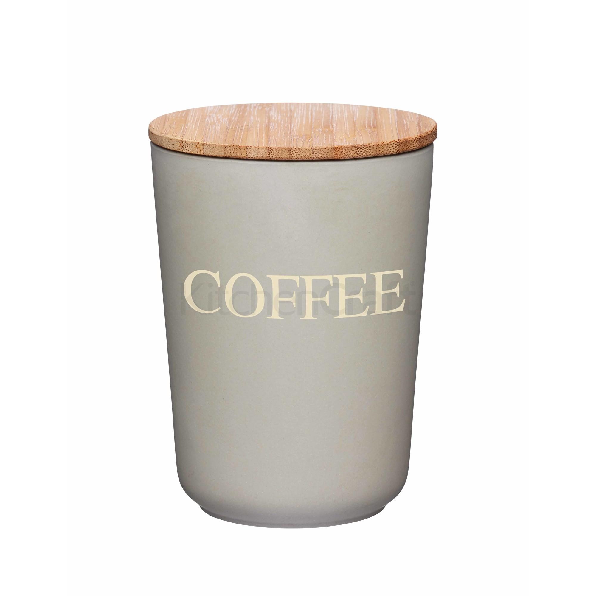 Δοχείο Coffee Natural Elements Bamboo Fibre Kitchencraft home   ειδη cafe τσαϊ   δοχεία καφε   ζάχαρης