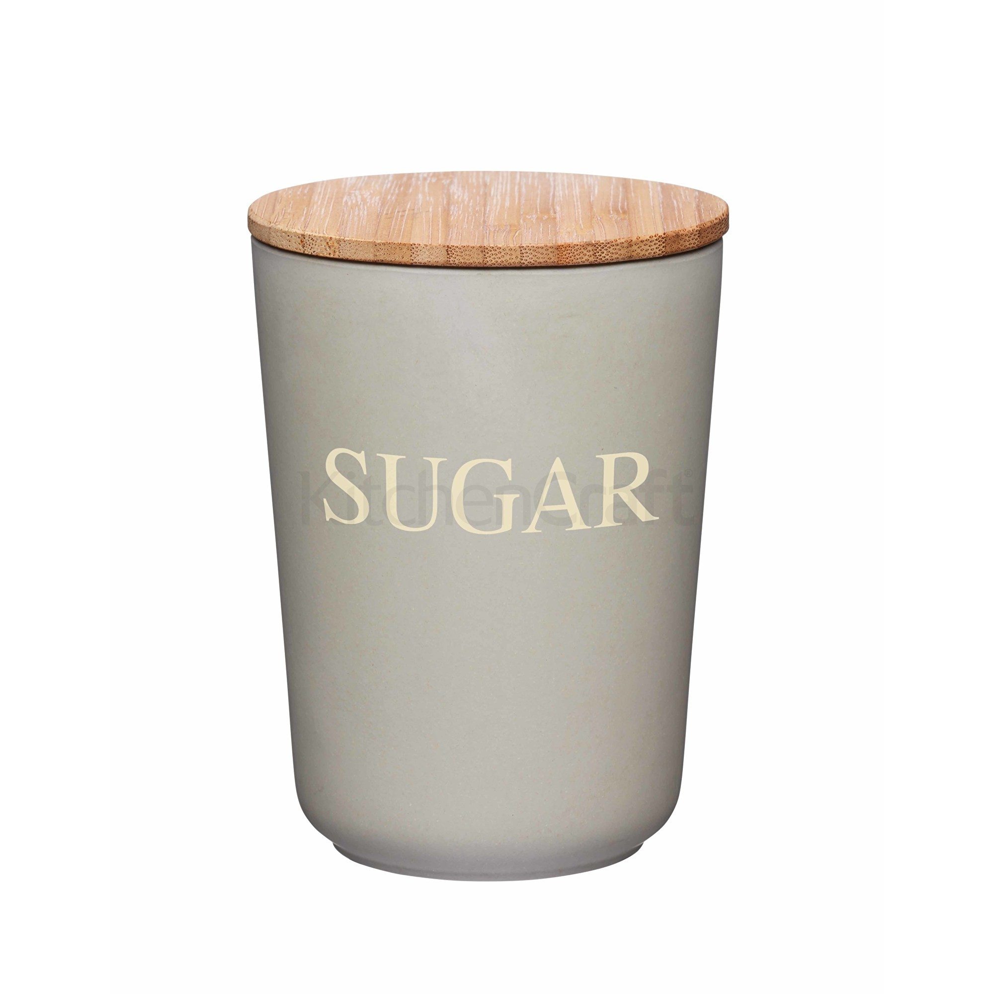 Δοχείο Sugar Natural Elements Bamboo Fibre Kitchencraft home   ειδη cafe τσαϊ   δοχεία καφε   ζάχαρης