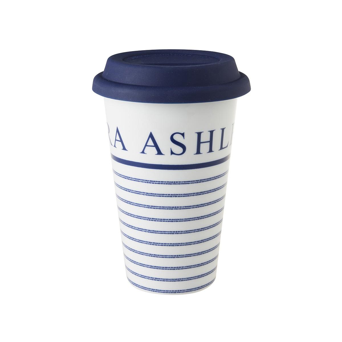 Κούπα Laura Ashley Ισοθερμική Candy Strip Fine Bone China 370ml home   ειδη cafe τσαϊ   κούπες   φλυτζάνια