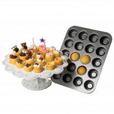 Φόρμα Αντικολλητική Για Cupcake 20θέσεων  Chicago Kitchencraft