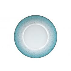Πιάτο Ρηχό Σετ 6Τμχ Metamorphosis Blue 27cm Ionia