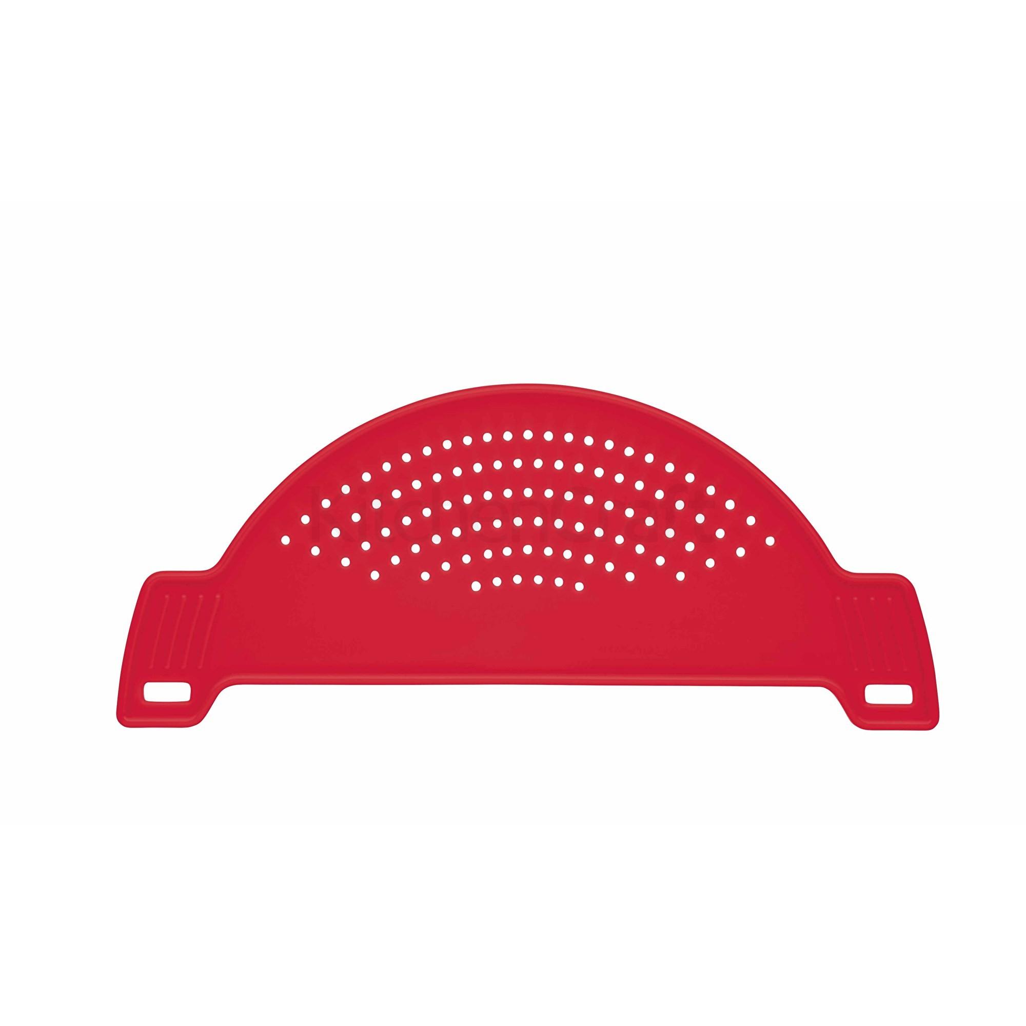 Σουρωτήρι Κατσαρόλας Πλαστικό Κόκκινο Colorworks Kitchencraft home   εργαλεια κουζινας   σουρωτήρια