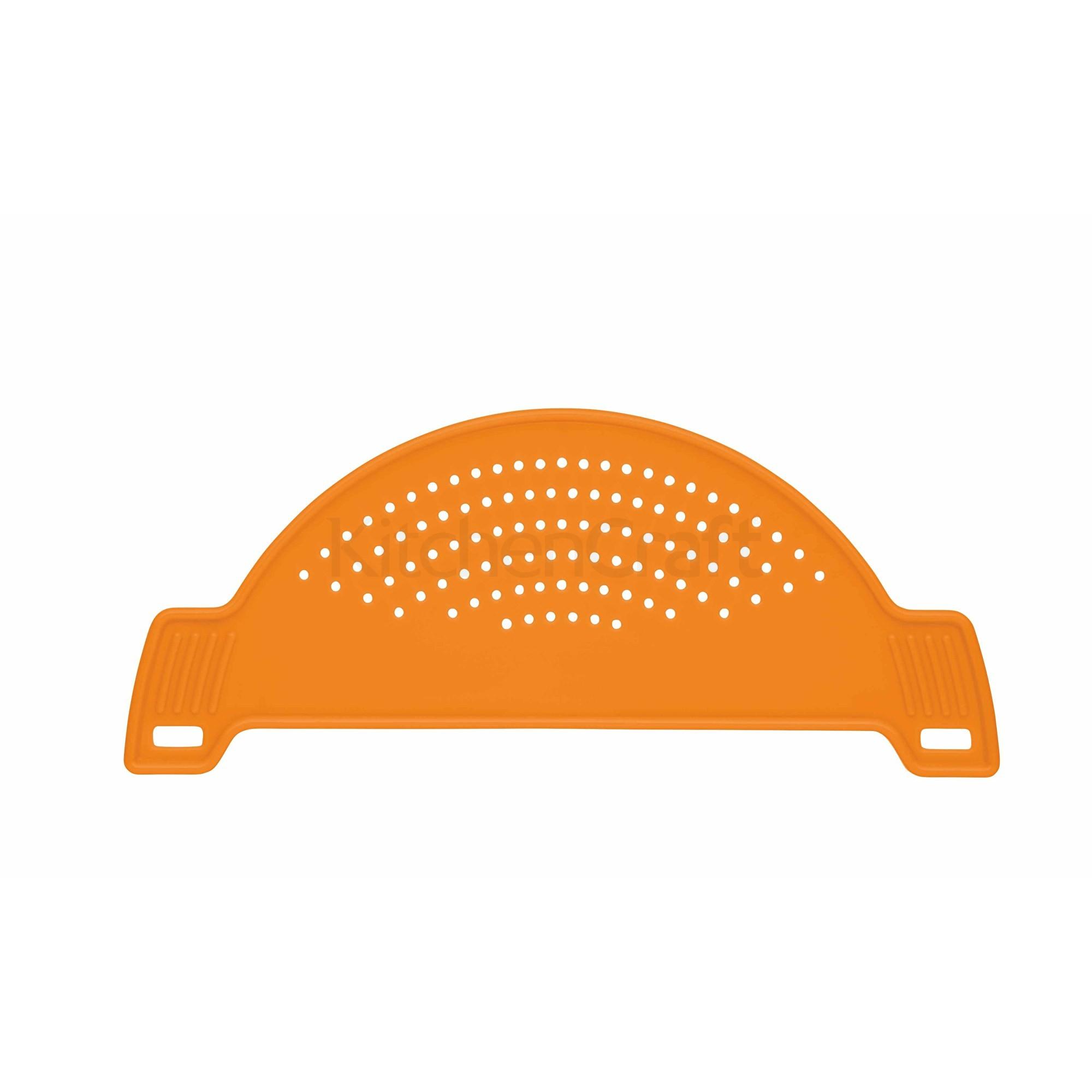 Σουρωτήρι Κατσαρόλας Πλαστικό Πορτοκαλί Colorworks Kitchencraft home   εργαλεια κουζινας   σουρωτήρια