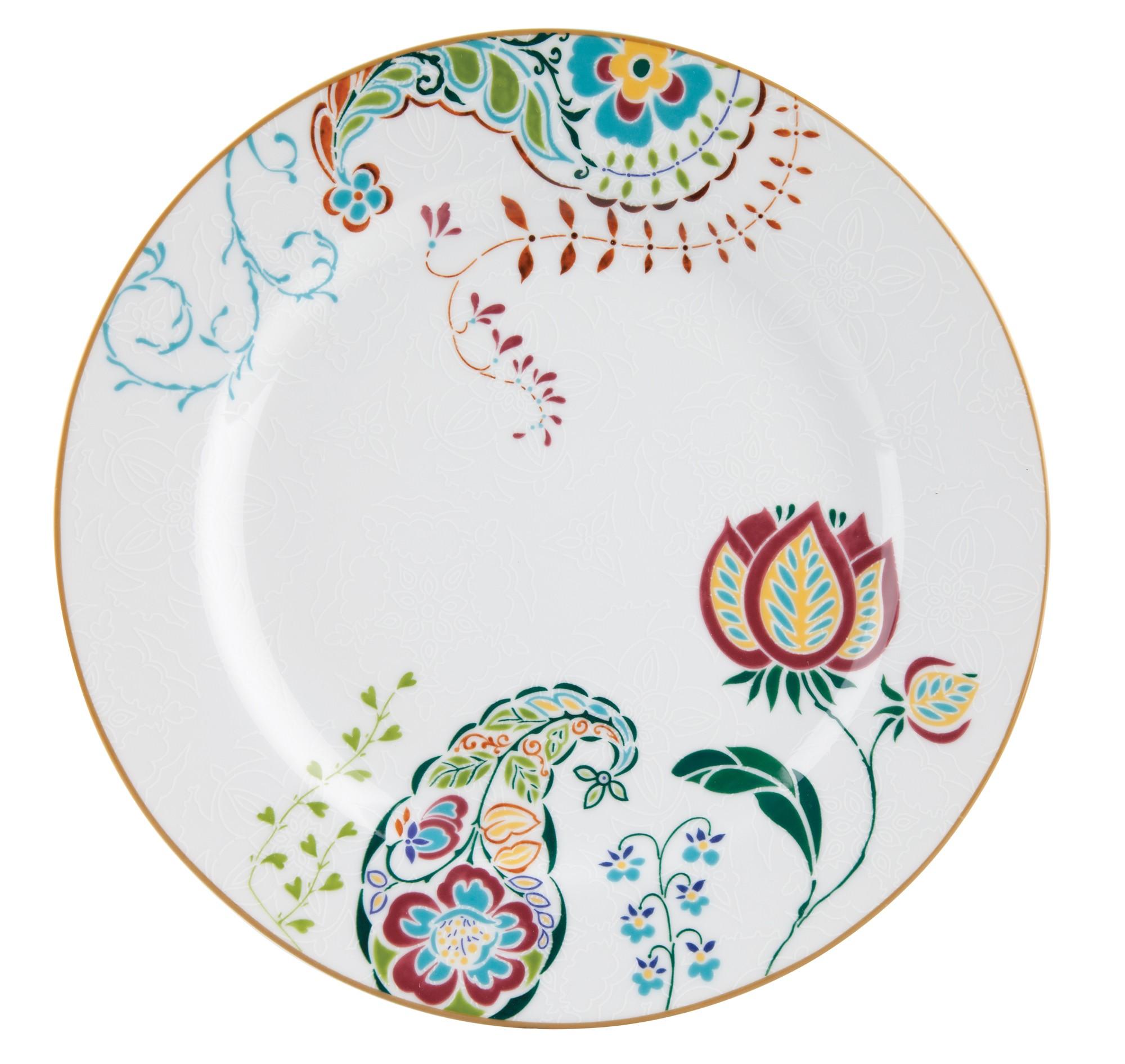 Πιάτο Φρούτου Σετ 6Τμχ Fantasy 20.5cm Ionia home   ειδη σερβιρισματος   πιάτα