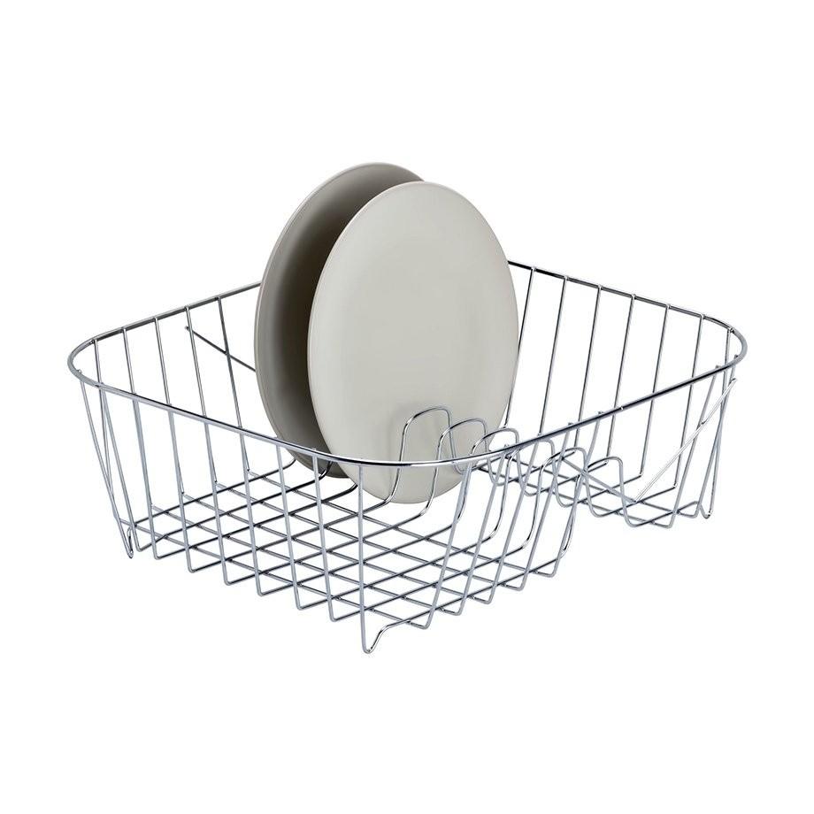 Πιατοθήκη Για Τη Γούρνα Του Νεροχύτη 34.5X35.5 Inοx 18/10 Tekno-Tel home   αξεσουαρ κουζινας   πιατοθήκες   στεγνωτήρες