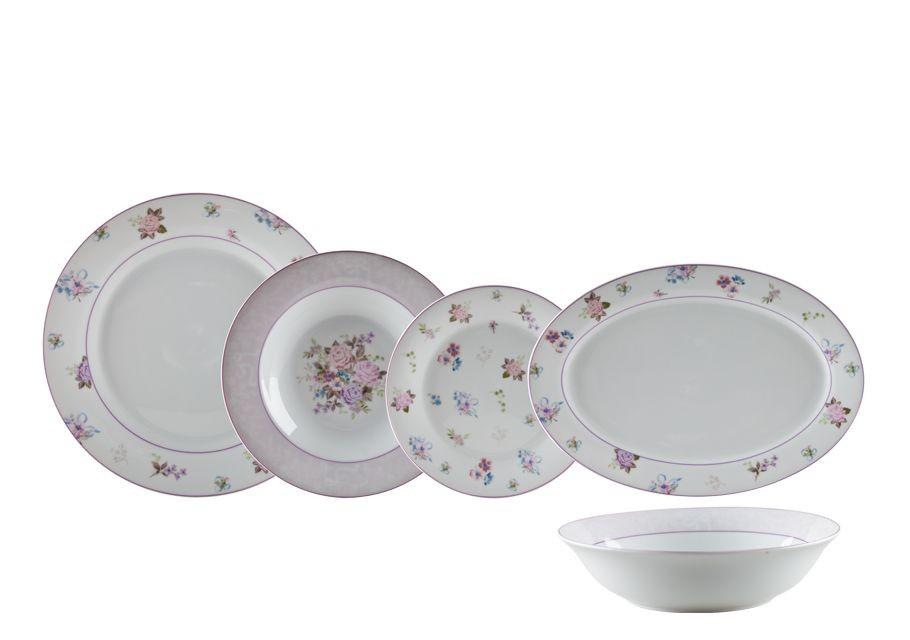 Σερβίτσιο Φαγητού Αριάνθη 20τμχ. Trimar home   ειδη σερβιρισματος   πιάτα   σερβίτσια