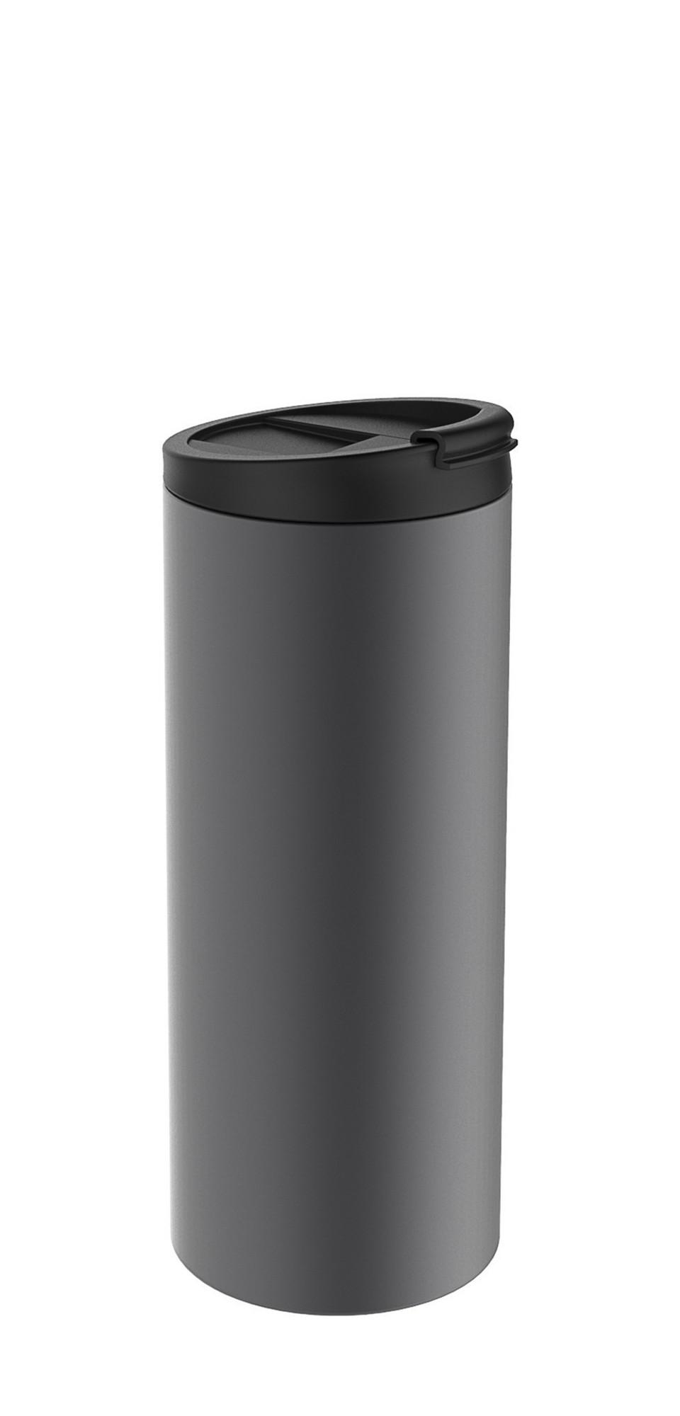 Θερμός Ποτήρι Zak Designs Inox Ανθρακί 350ml home   αξεσουαρ κουζινας   παγούρια   θερμός