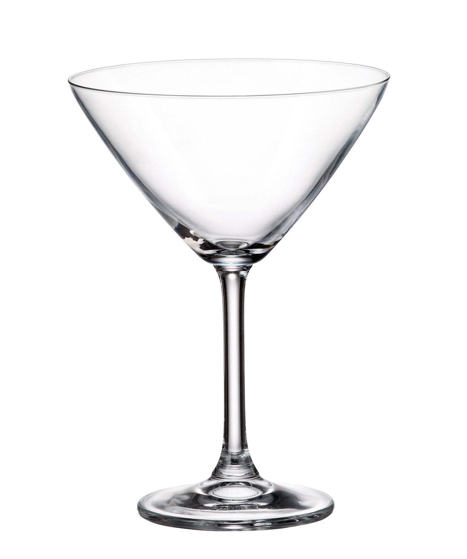 Ποτήρι Martini Colibri Σετ 6Τμχ Κρυστάλλινο 280ml Bohemia home   ειδη σερβιρισματος   ποτήρια