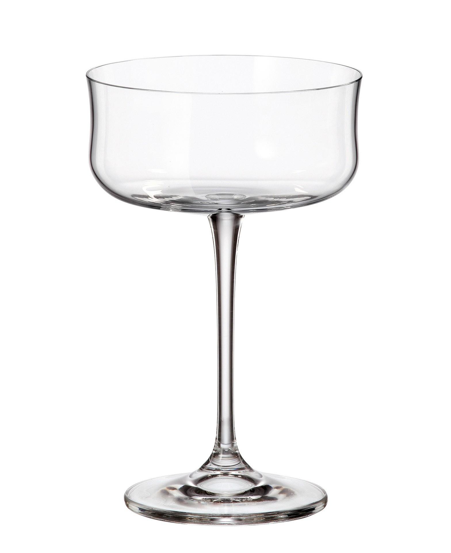 Ποτήρι Martini Buteo Σετ 6Τμχ Κρυστάλλινο 290ml Bohemia home   ειδη σερβιρισματος   ποτήρια