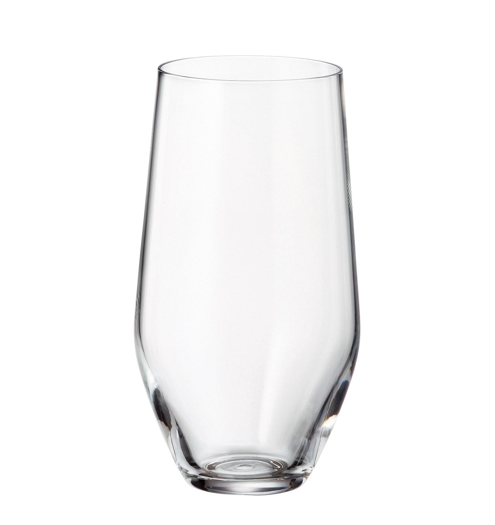 Ποτήρι Νερού - Αναψυκτικού Grus Σετ 6Τμχ Κρυστάλλινο 400ml Bohemia home   ειδη σερβιρισματος   ποτήρια
