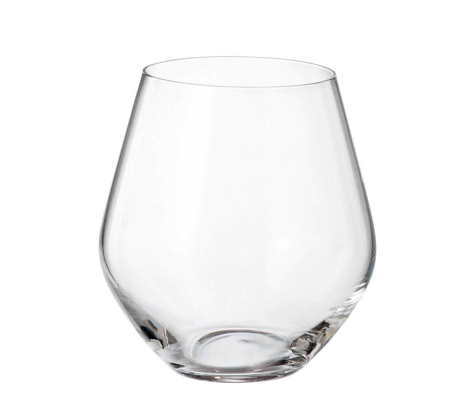 Ποτήρι Νερού - Αναψυκτικού Grus Σετ 6Τμχ Κρυστάλλινο 500ml Bohemia home   ειδη σερβιρισματος   ποτήρια