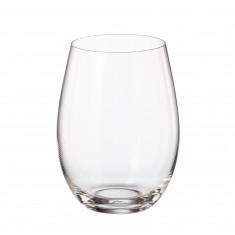 Ποτήρι Νερού - Αναψυκτικού Mergus Σετ 6Τμχ Κρυστάλλινο 560ml Bohemia