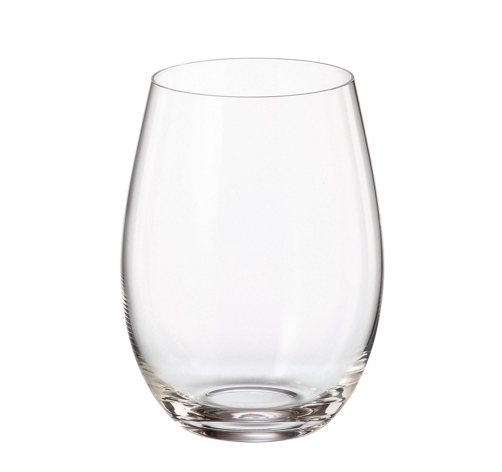 Ποτήρι Νερού - Αναψυκτικού Mergus Σετ 6Τμχ Κρυστάλλινο 560ml Bohemia home   ειδη σερβιρισματος   ποτήρια