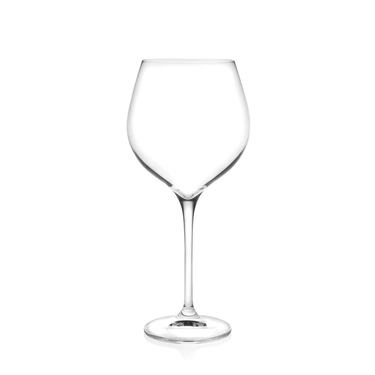 Ποτήρι Βουργουνδίας - Κρασιού Drop Σετ 6Τμχ Κρυστάλλινο 581ml Rcr home   ειδη σερβιρισματος   ποτήρια