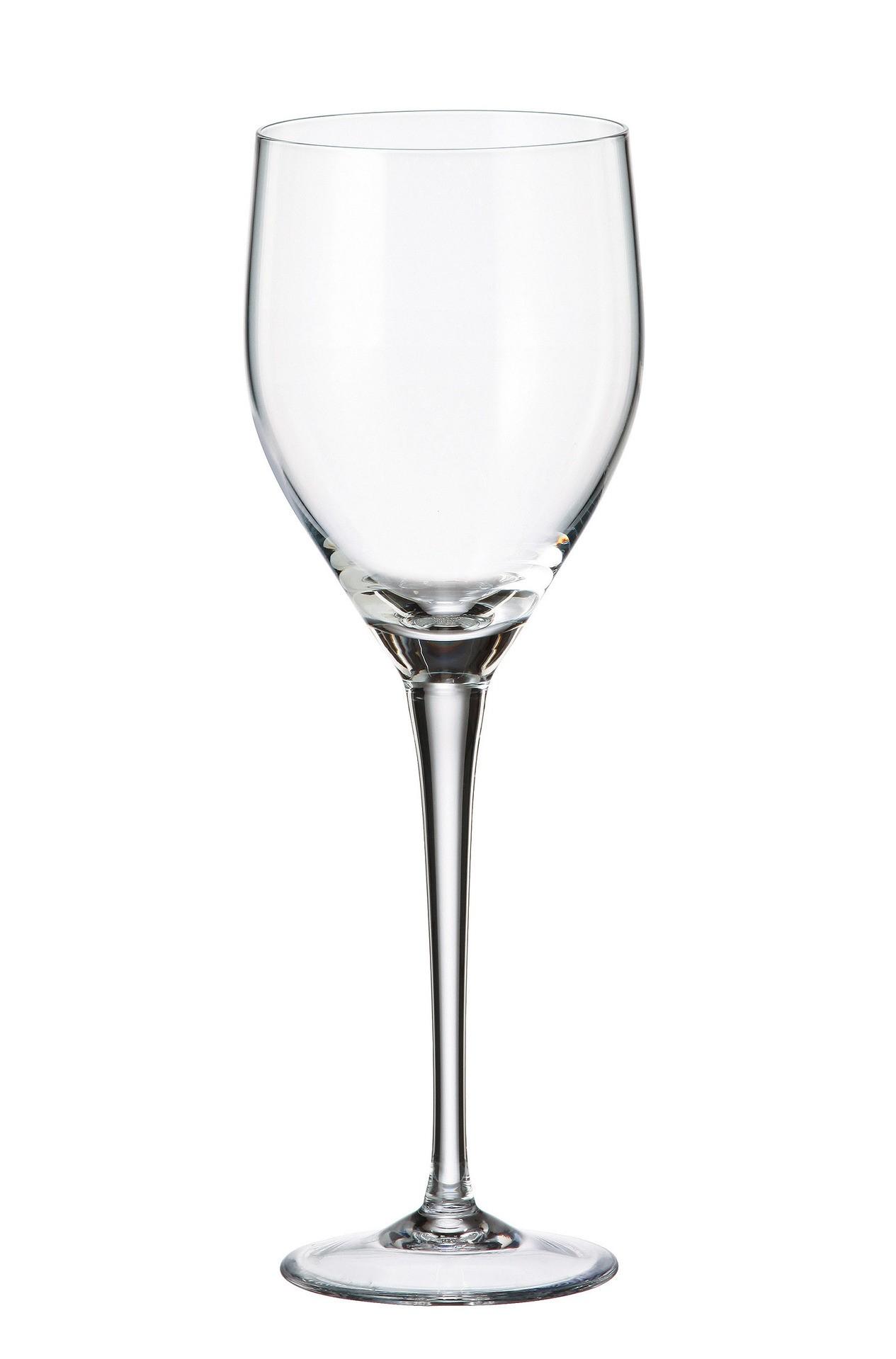Ποτήρι Για Λευκό Κρασί Sitta Σετ 6Τμχ Κρυστάλλινο 360ml Bohemia home   ειδη σερβιρισματος   ποτήρια