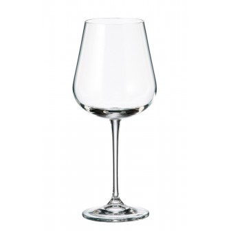 Ποτήρι Για Κόκκινο Κρασί - Νερό Ardea Σετ 6Τμχ Κρυστάλλινο 540ml Bohemia