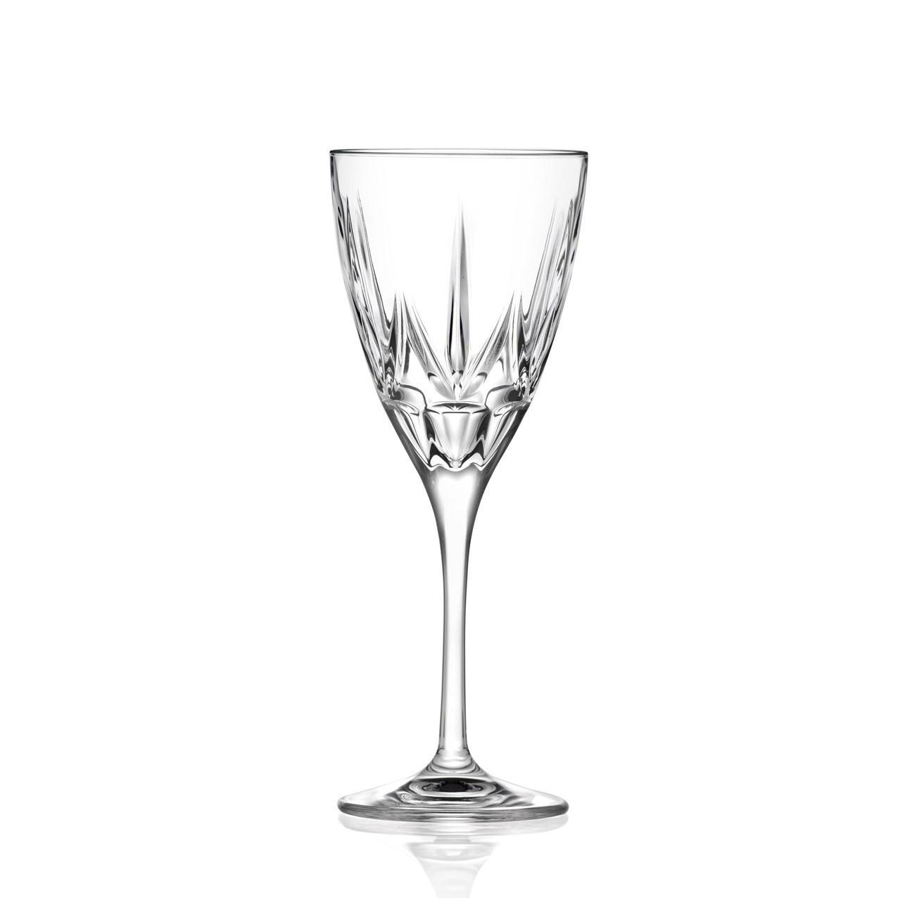 Ποτήρι Για Λευκό Κρασί Σετ 6τμχ. Κρυστάλλινο Chic270ml Rcr home   ειδη σερβιρισματος   ποτήρια