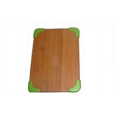 Επιφάνεια Κοπής Bamboo Με Σιλικόνη Πράσινη