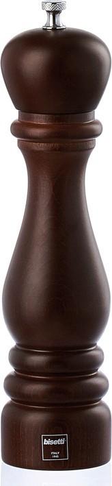 Μύλος Αλατιού Ξύλινος 25cm Bisetti home   αξεσουαρ κουζινας   μύλοι αλατοπίπερου