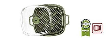 Γκριλιέρα Dr. Green Χυτού Αλουμινίου Vapogrill 26cm Risoli home   σκευη μαγειρικης   γκριλιέρες