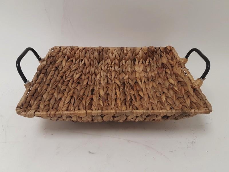Ψωμίερα - Φρουτιέρα Ψάθινη Παραλληλόγραμμη 38cm home   αξεσουαρ κουζινας