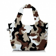 Τσάντα Ώμου Eco Bag 3 Σε 1 Camu Safari Bg Berlin