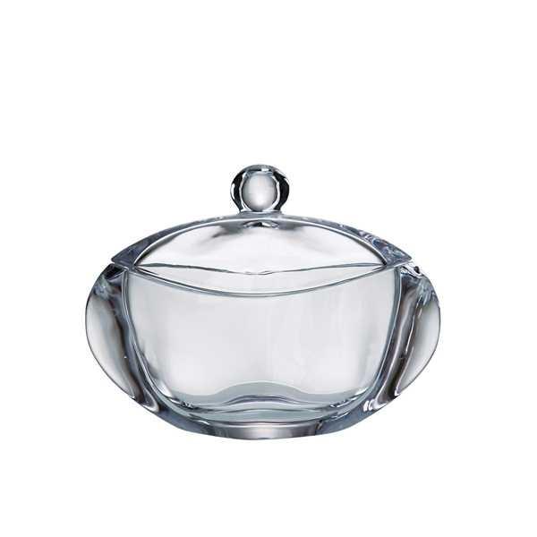 Φοντανιέρα Orbit Bohemia Με Καπάκι Κρυστάλλινη 17cm home   κρυσταλλα  διακοσμηση   κρύσταλλα