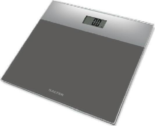Ζυγαριά Μπάνιου Glass Silver 180kg Salter home   ειδη μπανιου   ζυγαριές σώματος