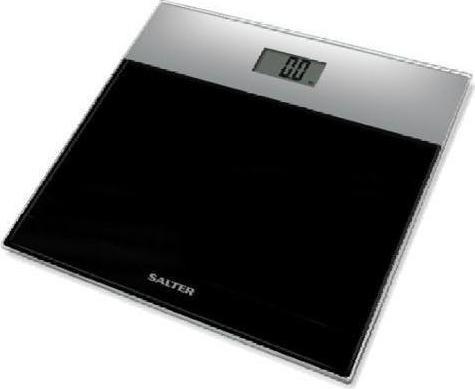 Ζυγαριά Μπάνιου Glass Black 180kg Salter home   ειδη μπανιου   ζυγαριές σώματος