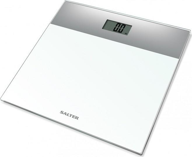 Ζυγαριά Μπάνιου Glass White 180kg Salter home   ειδη μπανιου   ζυγαριές σώματος