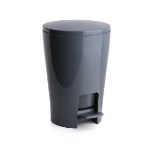 Πεντάλ 5lit Diabolo Πλαστικό Στρογγυλό Ανθρακί Tatay home   ειδη μπανιου   πετάλ