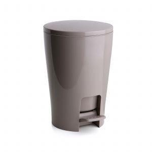 Πεντάλ 5lit Diabolo Πλαστικό Στρογγυλό Μπεζ Tatay home   ειδη μπανιου   πετάλ