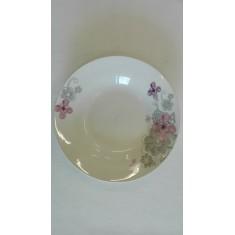Πιάτο Βαθύ Πορσελάνης Λουλούδι 23cm