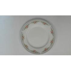 Πιάτο Φρούτου Πορσελάνης Στεφανάκι 19cm