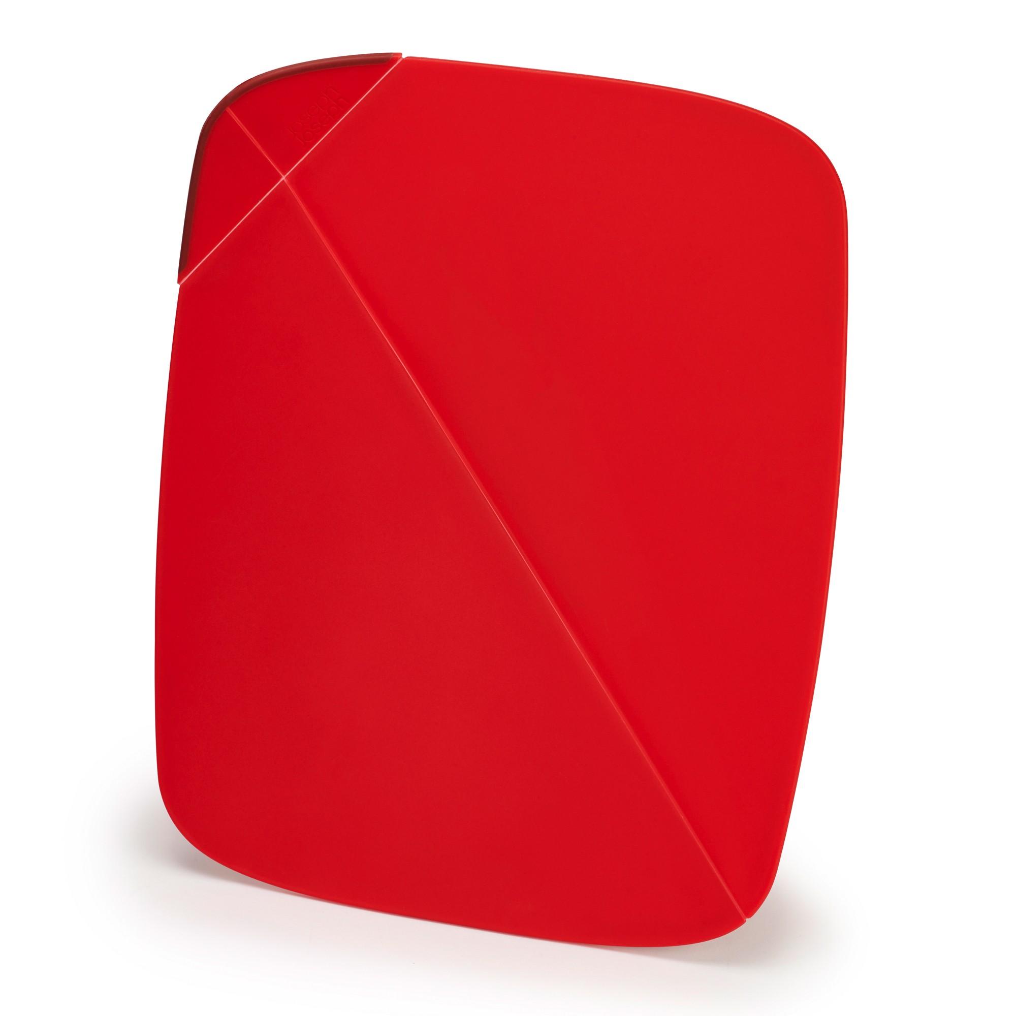 Επιφάνεια Κοπής Αναδιπλούμενη joseph joseph Duo Κόκκινη home   αξεσουαρ κουζινας   επιφάνειες κοπής