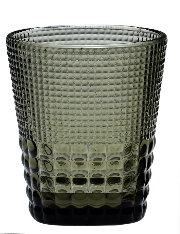 Ποτήρι Ουίσκι Pearls Grey Σετ 6τμχ home   ειδη σερβιρισματος   ποτήρια   ουίσκι