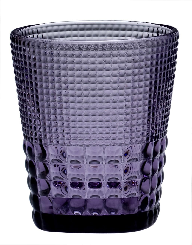 Ποτήρι Ουίσκι Pearls Purple Σετ 6τμχ home   ειδη σερβιρισματος   ποτήρια