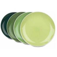 Πιάτο Φρούτου Jungle Σετ 4τμχ. Elements Green