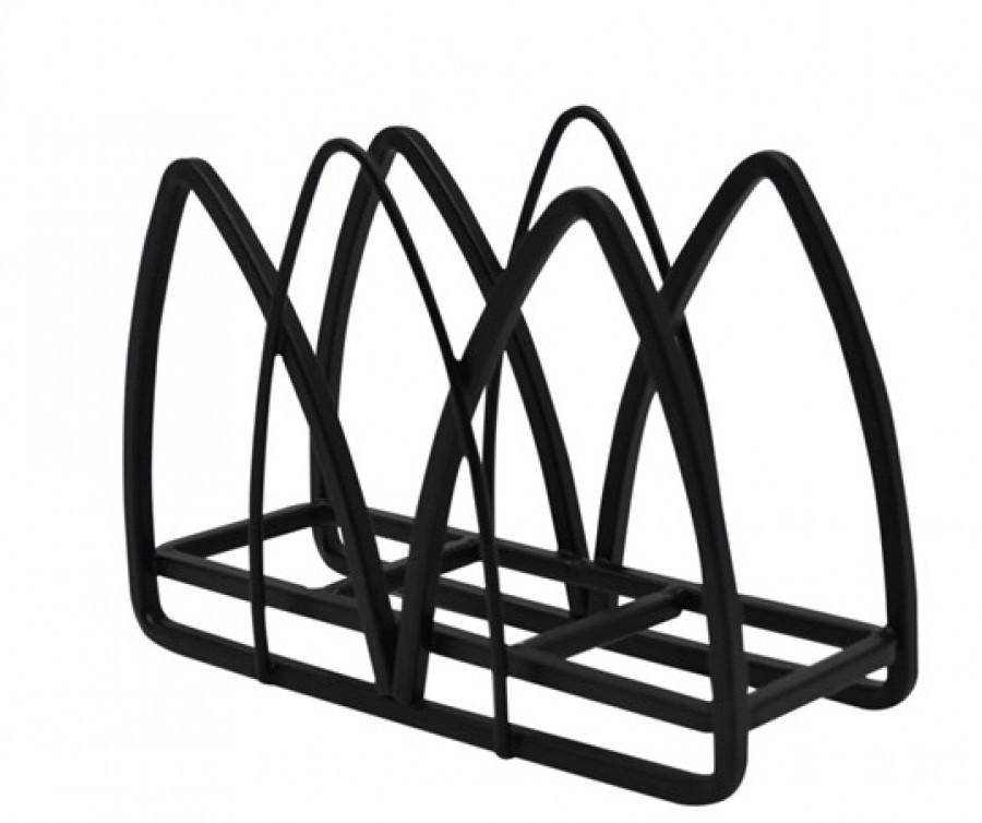 Χαρτοπεσετοθήκη Μεταλλική Μαύρη home   αξεσουαρ κουζινας   χαρτοπετσετοθήκες