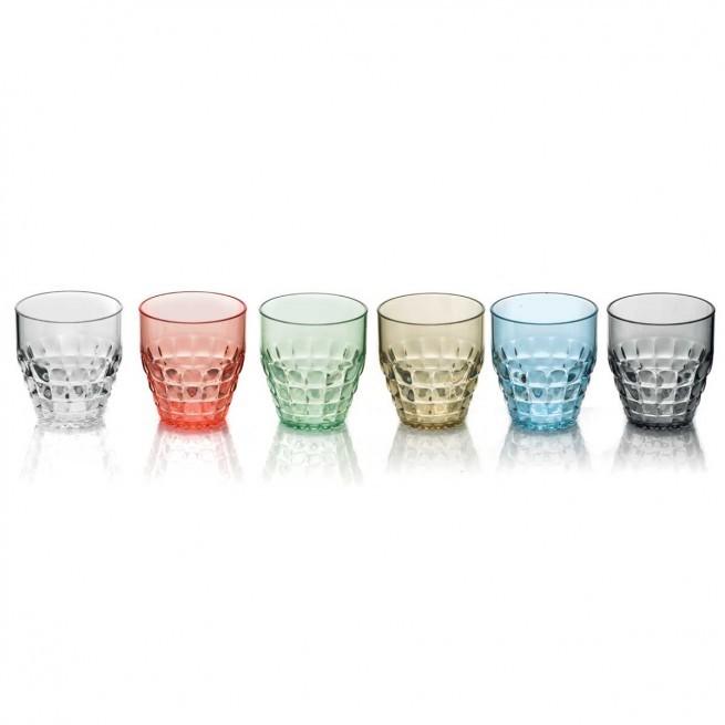 Ποτήρια Νερού - Αναψυκτικού Tiffany Σετ 6τμχ 350ml Χρωματιστά Guzzini home   ειδη σερβιρισματος   ποτήρια   νερού   αναψυκτικού