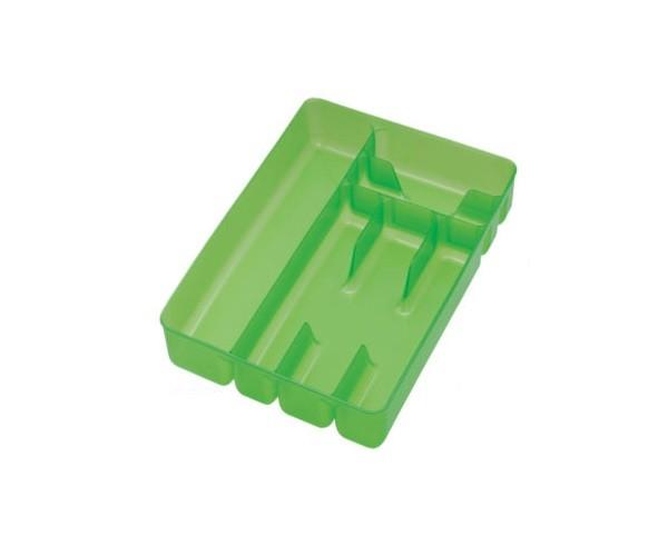 Κουταλοθήκη Πλαστική 6 Θέσεων Για Το Συρτάρι Cosmoplast home   αξεσουαρ κουζινας   θήκες για μαχαιροπήρουνα