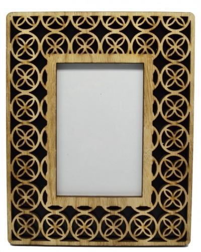 Κορνίζα Ξύλινη Διάτρητη 13Χ18 home   κρυσταλλα  διακοσμηση   κορνίζες