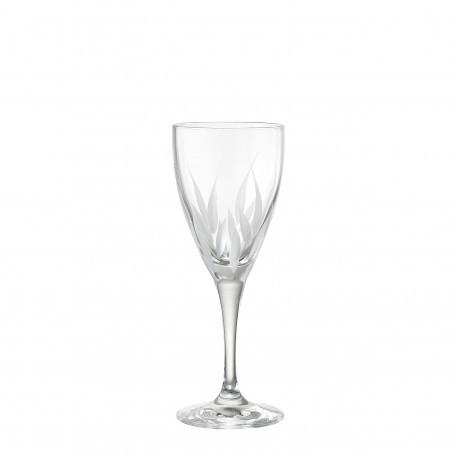 Ποτήρι Κρασιού Σετ 6 Τμχ Κρυστάλλινο Flame 255ml home   ειδη σερβιρισματος   ποτήρια   kρυστάλλινα