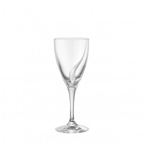 Ποτήρι Κρασιού Σετ 6 Τμχ Κρυστάλλινο Drop 255ml home   ειδη σερβιρισματος   ποτήρια   kρυστάλλινα