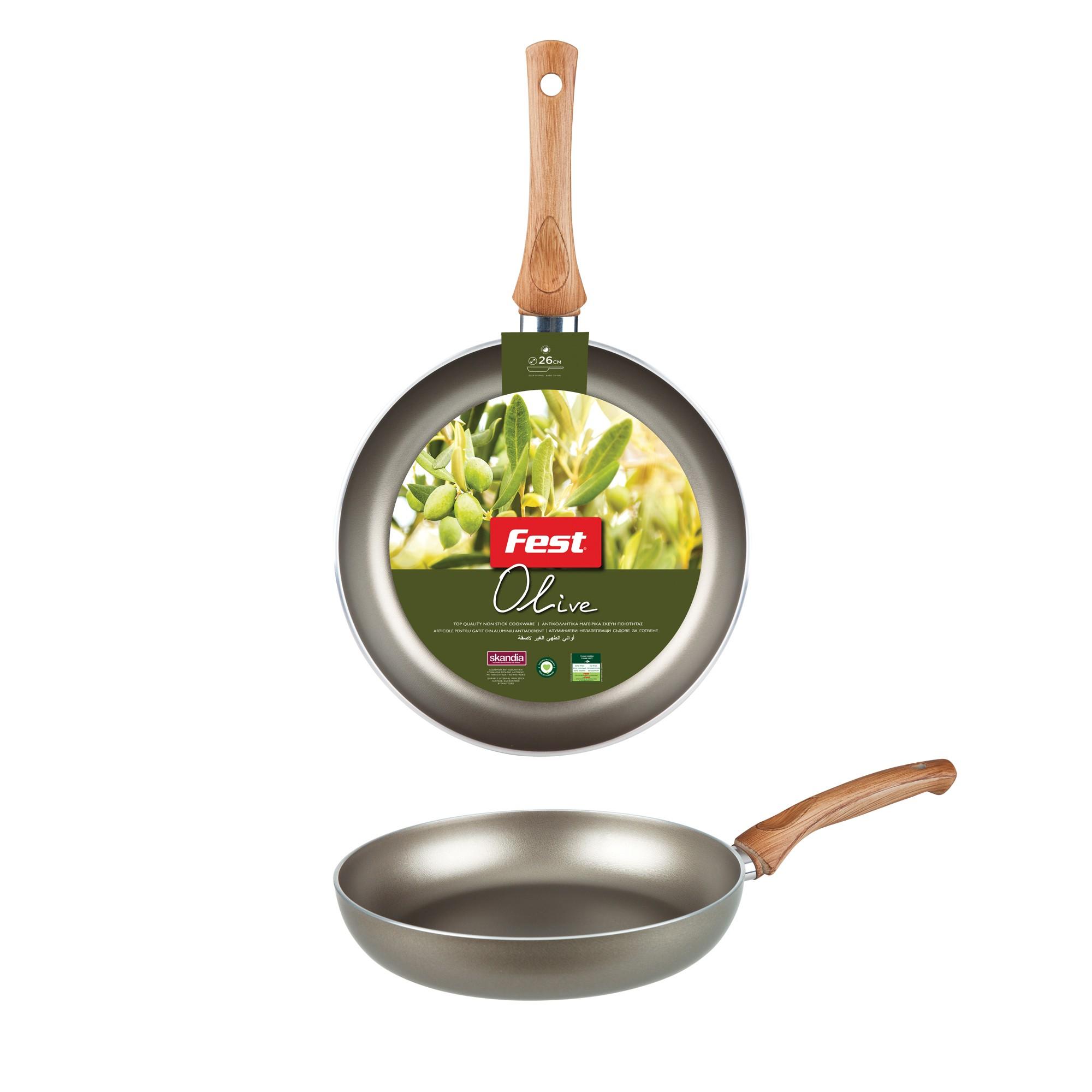 Τηγάνι Βαθύ Olive Fest 26cm home   σκευη μαγειρικης   τηγάνια