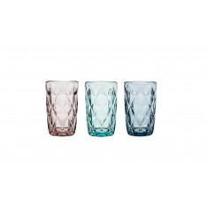 Ποτήρι Νερού - Αναψυκτικού Σετ 6τμχ. Diamond