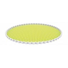 Πιατέλα Στρογγυλή Dotty Λαχανί Zak Design 30cm