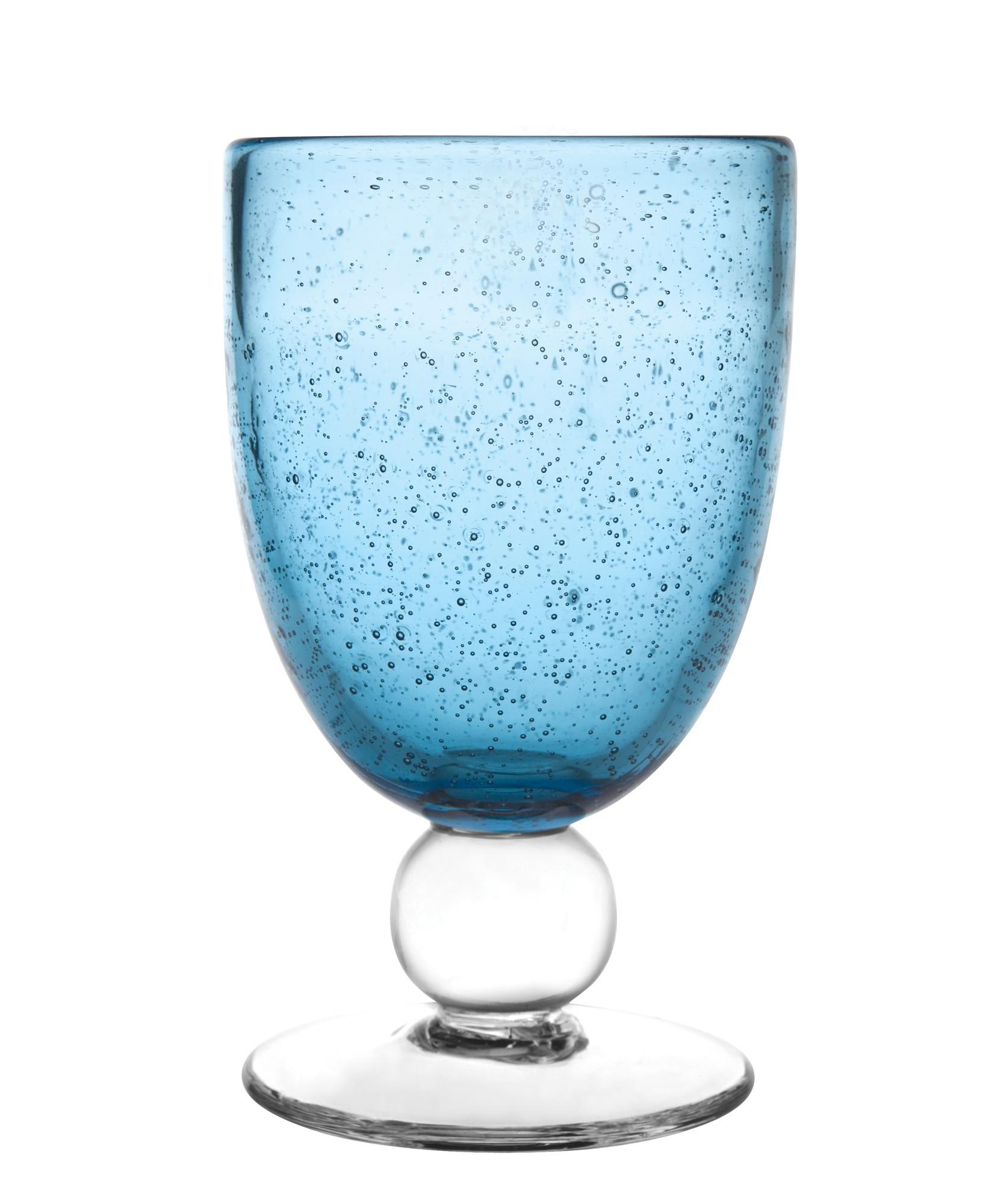 Ποτήρι Κρασιού Anise Dark Blue Σετ 6Τμχ 260ml Ionia home   ειδη σερβιρισματος   ποτήρια